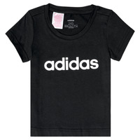 Clothing Girl Short-sleeved t-shirts adidas Performance NATRAZ Black