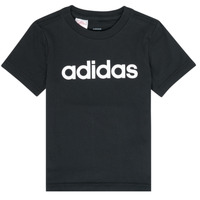 Clothing Boy Short-sleeved t-shirts adidas Performance NATAZO Black
