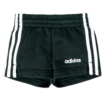 Clothing Girl Shorts / Bermudas adidas Performance GIPSIA Black