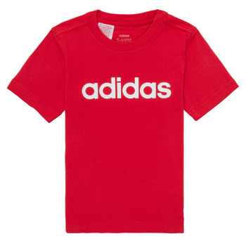 Clothing Boy short-sleeved t-shirts adidas Performance NIRTA Red