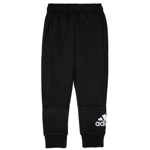 Clothing Boy Tracksuit bottoms adidas Performance MARTA Black
