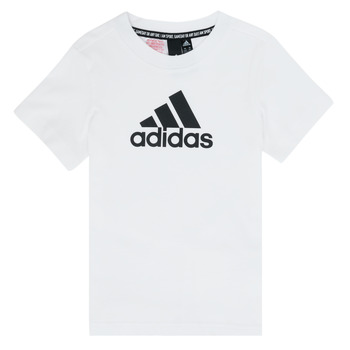 Clothing Boy short-sleeved t-shirts adidas Performance DANAE White