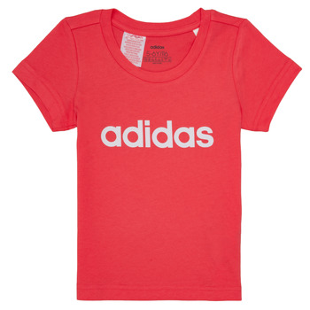 Clothing Girl short-sleeved t-shirts adidas Performance MAKIT Pink