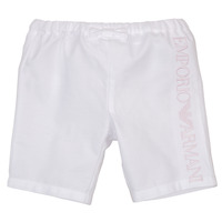 Clothing Girl Shorts / Bermudas Emporio Armani Aniss White