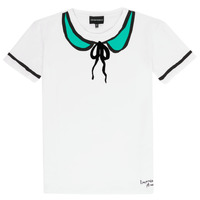Clothing Girl short-sleeved t-shirts Emporio Armani Anthonin White