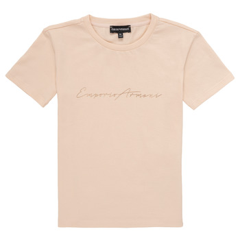 Clothing Girl Short-sleeved t-shirts Emporio Armani Armel Pink
