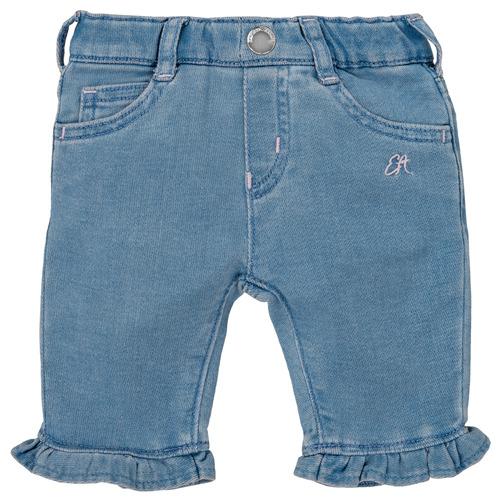 Clothing Girl 5-pocket trousers Emporio Armani Arthur Blue