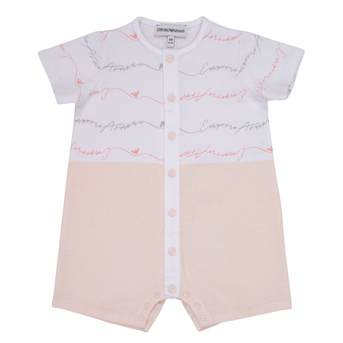 Clothing Girl Jumpsuits / Dungarees Emporio Armani Adem Pink