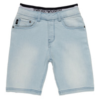 Clothing Boy Shorts / Bermudas Emporio Armani Albert Blue