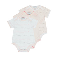 Clothing Girl Sleepsuits Emporio Armani Alexander Pink