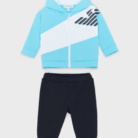 Clothing Boy Sets & Outfits Emporio Armani Amael Blue / Marine