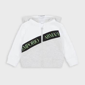 Clothing Boy sweaters Emporio Armani Anatole White