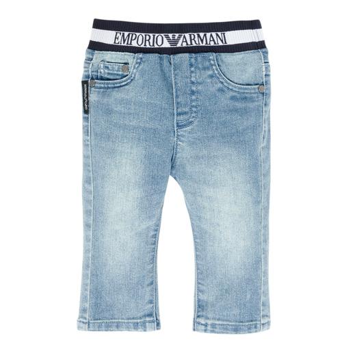 Clothing Boy straight jeans Emporio Armani Ange Blue