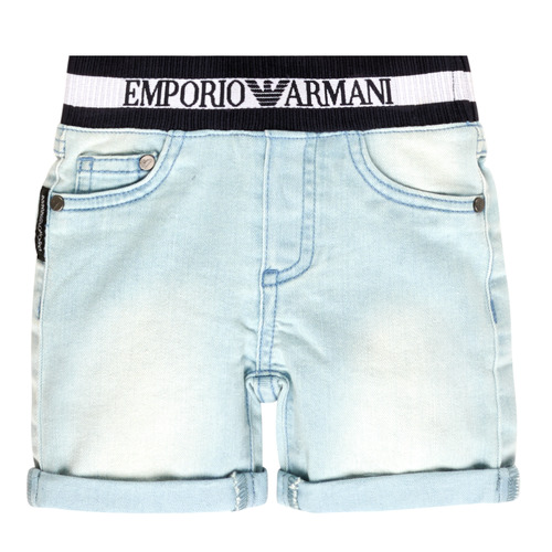 Clothing Boy Shorts / Bermudas Emporio Armani Ariel Blue