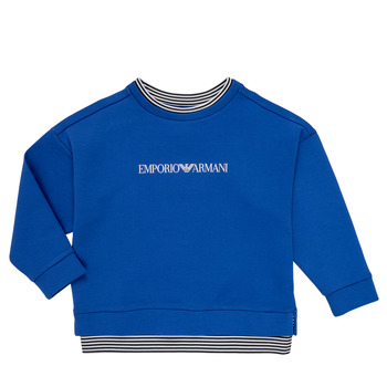 Clothing Boy Sweaters Emporio Armani Aurèle Blue