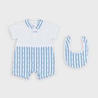Clothing Boy Jumpsuits / Dungarees Emporio Armani Adam Blue
