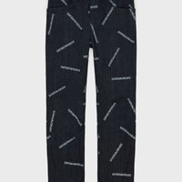 Clothing Boy straight jeans Emporio Armani Adil Blue