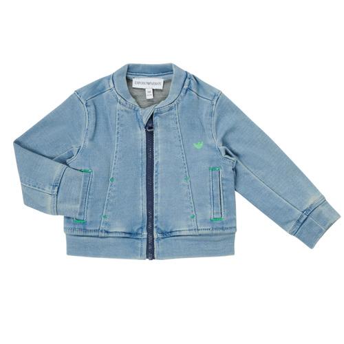 Clothing Boy Jackets / Blazers Emporio Armani Alfred Blue