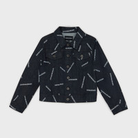 Clothing Boy Denim jackets Emporio Armani Angelo Blue