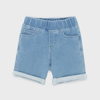 Clothing Boy Shorts / Bermudas Emporio Armani Aurélien Blue