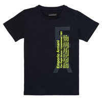 Clothing Boy short-sleeved t-shirts Emporio Armani Andoni Marine