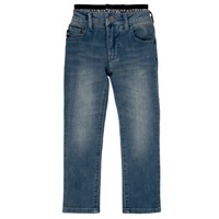 Clothing Boy straight jeans Emporio Armani Annie Blue