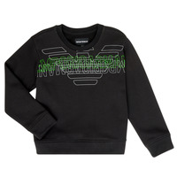 Clothing Boy sweaters Emporio Armani Austin Black