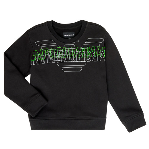 Clothing Boy Sweaters Emporio Armani Austin Black