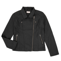 Clothing Girl Leather jackets / Imitation leather Only KONCARLA Black