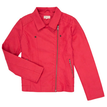 Clothing Girl Leather jackets / Imitation leather Only KONCARLA Pink