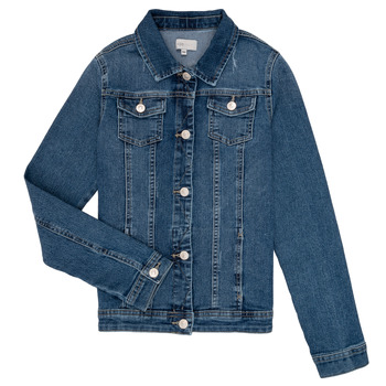 Clothing Girl Denim jackets Only KONSARA Blue