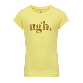 Clothing Girl Short-sleeved t-shirts Only KONJULLA Yellow