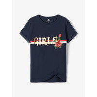 Clothing Girl Short-sleeved t-shirts Name it NKFBARBRA Marine
