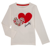 Clothing Girl Long sleeved tee-shirts Name it NMFBOSINE Red