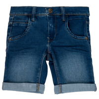Clothing Girl Shorts / Bermudas Name it NKMSOFUS Blue