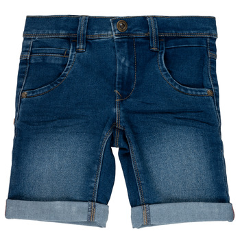 Clothing Girl Shorts / Bermudas Name it NKMSOFUS Blue