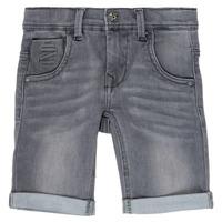 Clothing Boy Shorts / Bermudas Name it NKMTHEO Grey