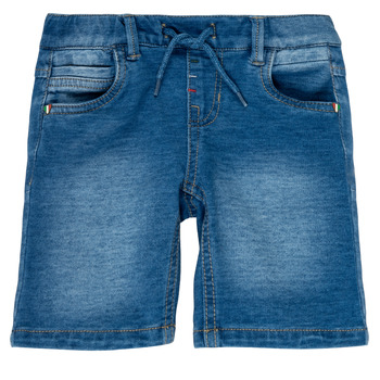 Clothing Boy Shorts / Bermudas Name it NMMRYAN Blue