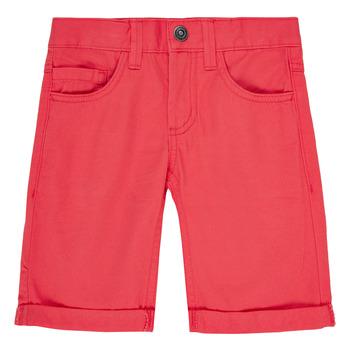 Clothing Boy Shorts / Bermudas Name it NKMSOFUS TWIISAK Red