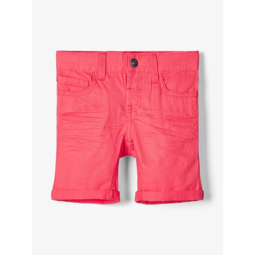 Clothing Boy Shorts / Bermudas Name it NMMSOFUS TWIISKA Red