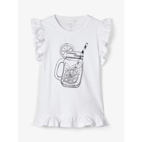 Clothing Girl Tops / Sleeveless T-shirts Name it NKFZELANA White