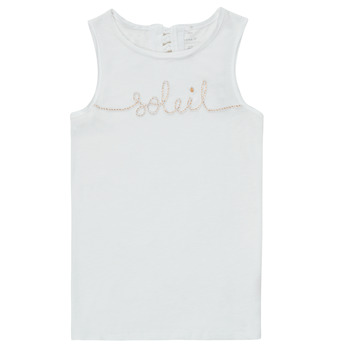 Clothing Girl Tops / Sleeveless T-shirts Name it NKFFAMILA White