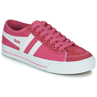 Shoes Women Low top trainers Gola QUOTA II Pink / White