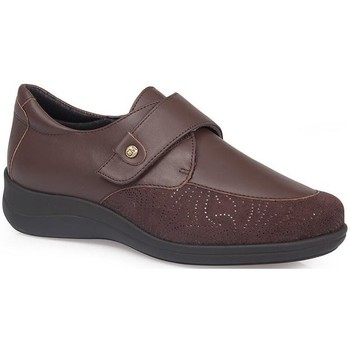 Shoes Women Derby Shoes & Brogues Calzamedi DIABETIC ELASTIC  SHOES BROWN