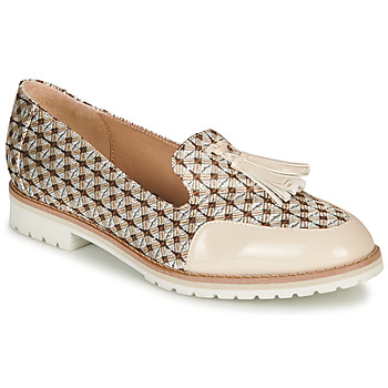 Shoes Women Loafers André EMOTION Beige