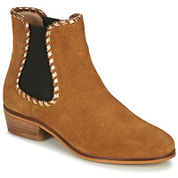Shoes Women Ankle boots André BRETT Camel