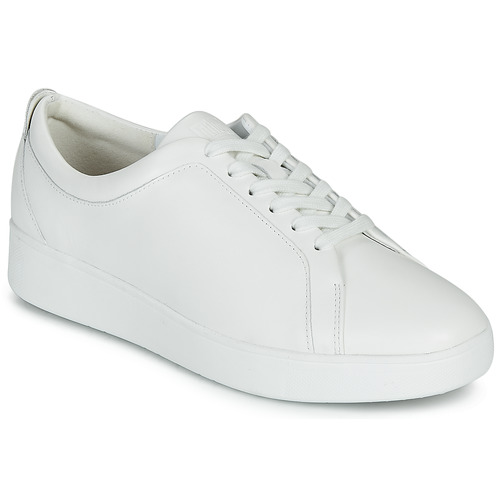 Shoes Women Low top trainers FitFlop RALLY SNEAKERS White