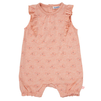 Clothing Girl Sleepsuits Noukie's LOUIS Pink