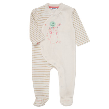 Clothing Girl Sleepsuits Noukie's LEO Pink
