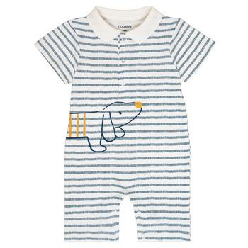 Clothing Boy Jumpsuits / Dungarees Noukie's IMRAN White